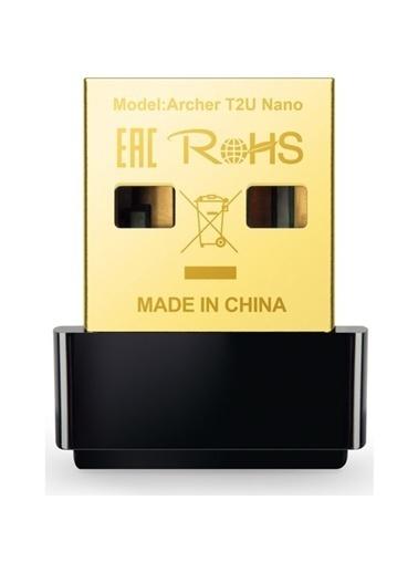 TP-LINK Tp-Link Archer T2U Nano Ac 600 Mbps Nano Wireless Usb Adaptör Siyah